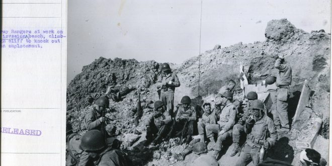 Rudder's Rangers and the Boys of Pointe du Hoc: The U S