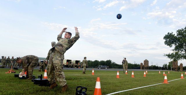 Army Combat Fitness Test challenges Best Warriors for the